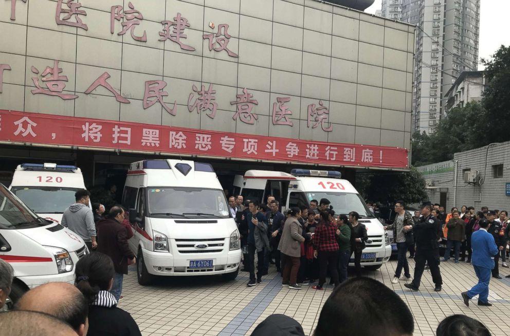 Knife-wielding woman injures 14 children in China kindergarten attack