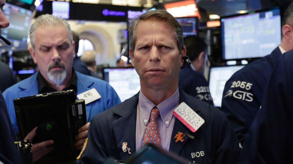 Trader Robert Charmak works on the floor of the New York Stock Exchange, Friday, June 15, 2018. U.S. stocks fell with other markets around the world on Friday after the Trump administration stepped up the trade dispute between the world's two biggest economies by announcing tariffs on $50 billion of imports from China.