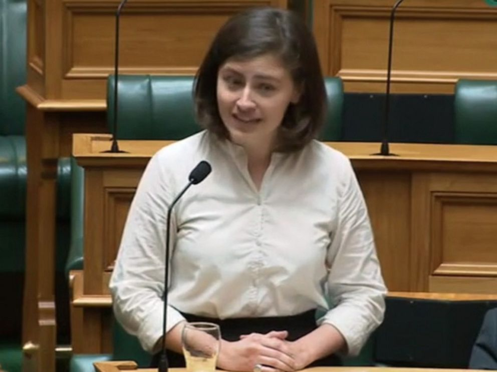 Chlöe Swabrick shuts down New Zealand Parliament member by saying