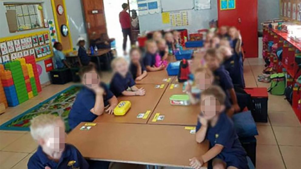 Teacher in South Africa suspended after controversial photo of students goes viral