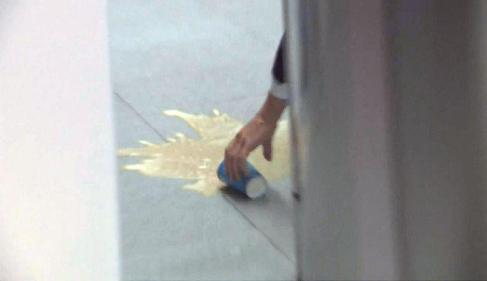 Netherlands PM Mark Rutte earns praise after mopping up spilt coffee