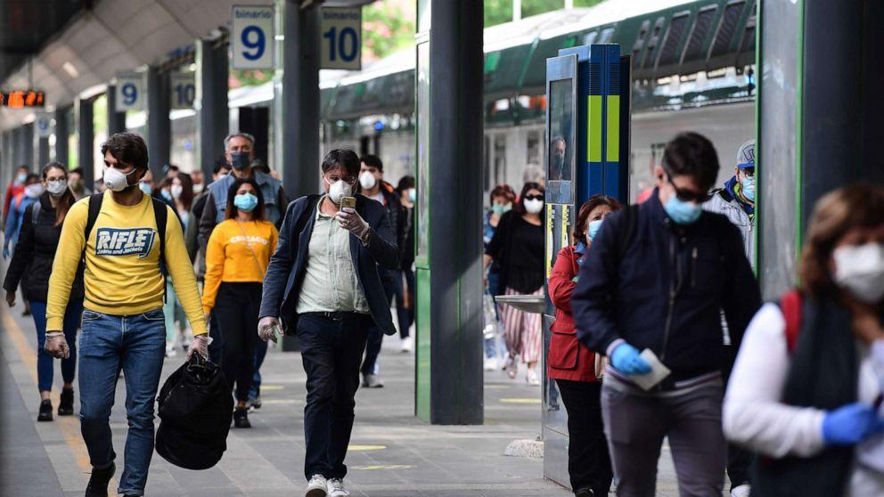 Coronavirus updates: Italy cautiously emerges from world's longest lockdown