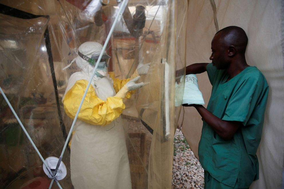 Uganda confirms first case of Ebola