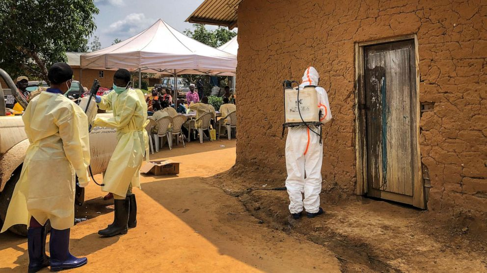Ebola case confirmed in Congolese city of Goma, home to over 1 million thumbnail