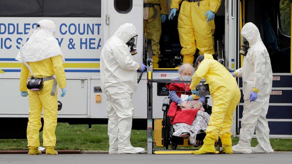 Gesundheit Beamten befürchten, coronavirus Ausbruch der Invasion Pflegeheimen