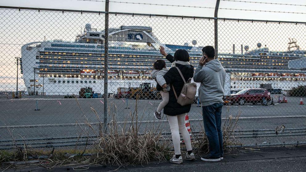 Diamond Princess hatte Spuren von coronavirus-17 Tage nach dem Schiff geleert: CDC