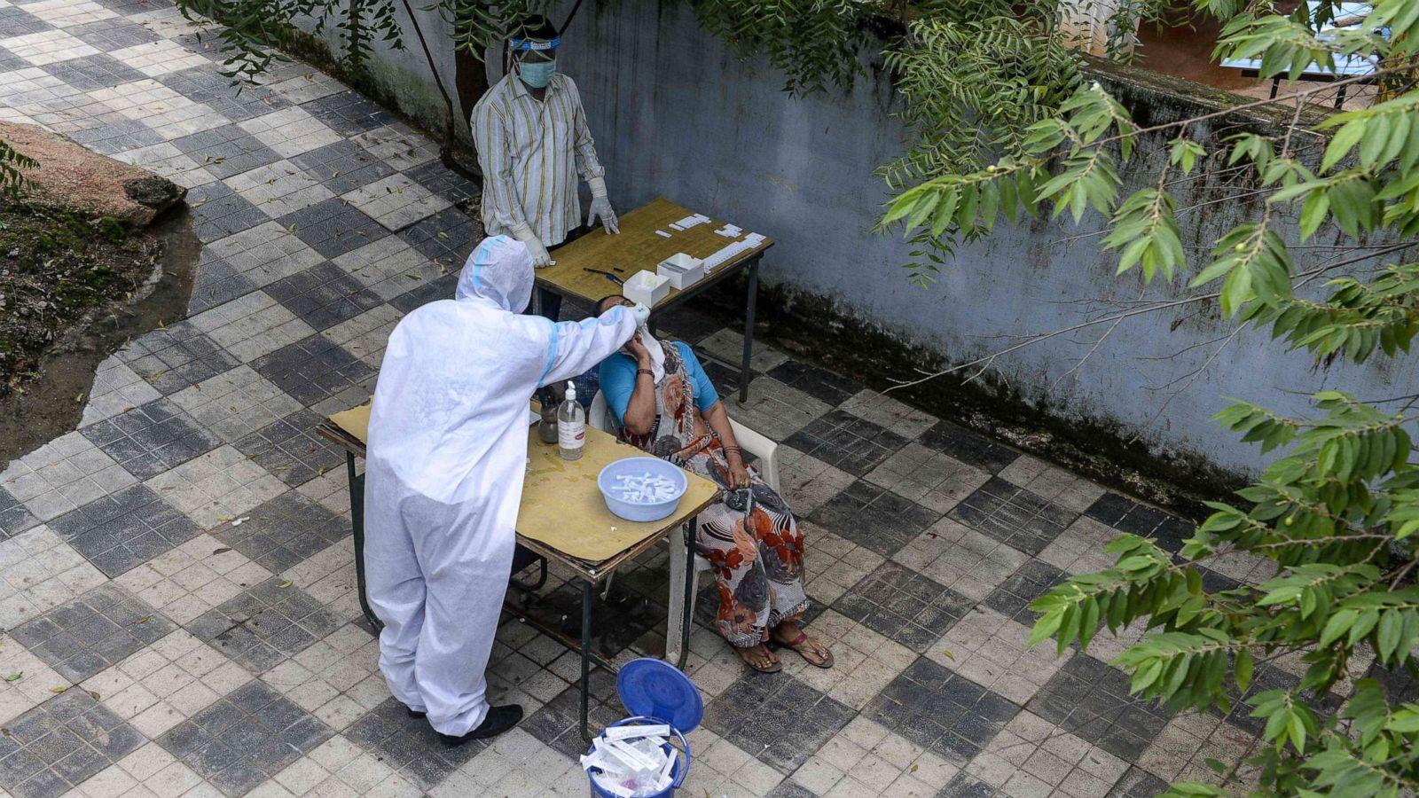 coronavirus test hyderabad india getty 200 hpMain 20200918 044501 16x9 1600