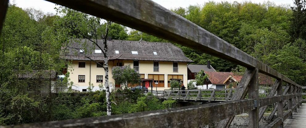 PHOTO:A guesthouse is pictured at the river Ilz in Passau, Germany, May 13, 2019.