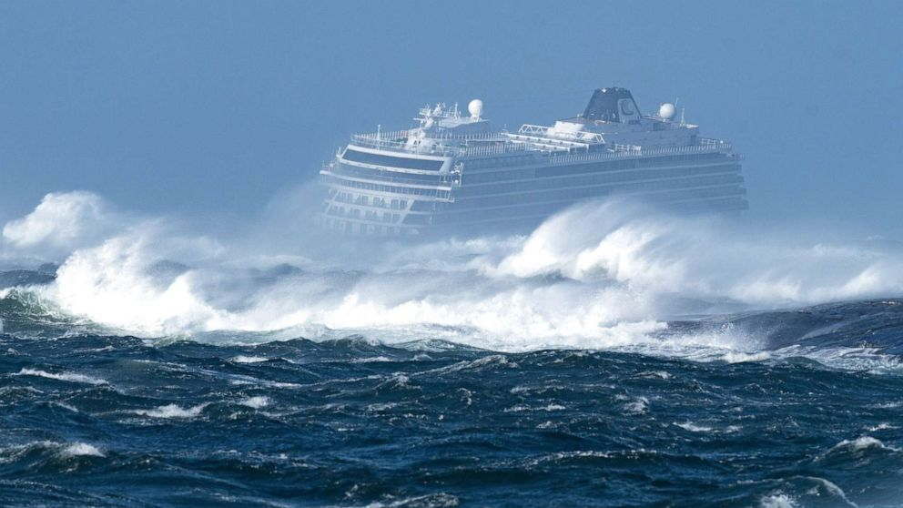 Viking Cruises engine failure off Norway coast prompts rescue operation for 1,300 people on board