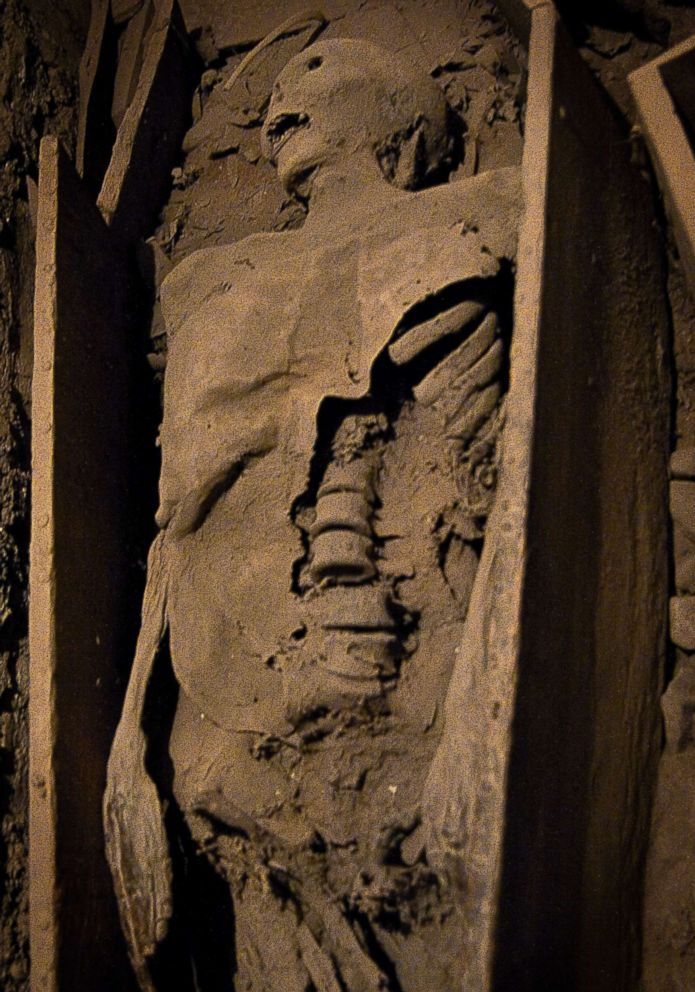 PHOTO: St. Michans Church in Central Dublin houses the fabled crusader mummified corpse.