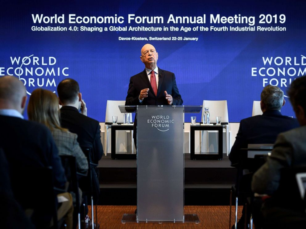 World Economic Forum's annual meeting to start Tuesday