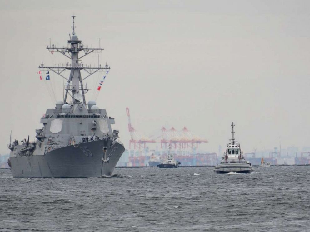 USA  destroyer challenges Russian claims in Sea of Japan