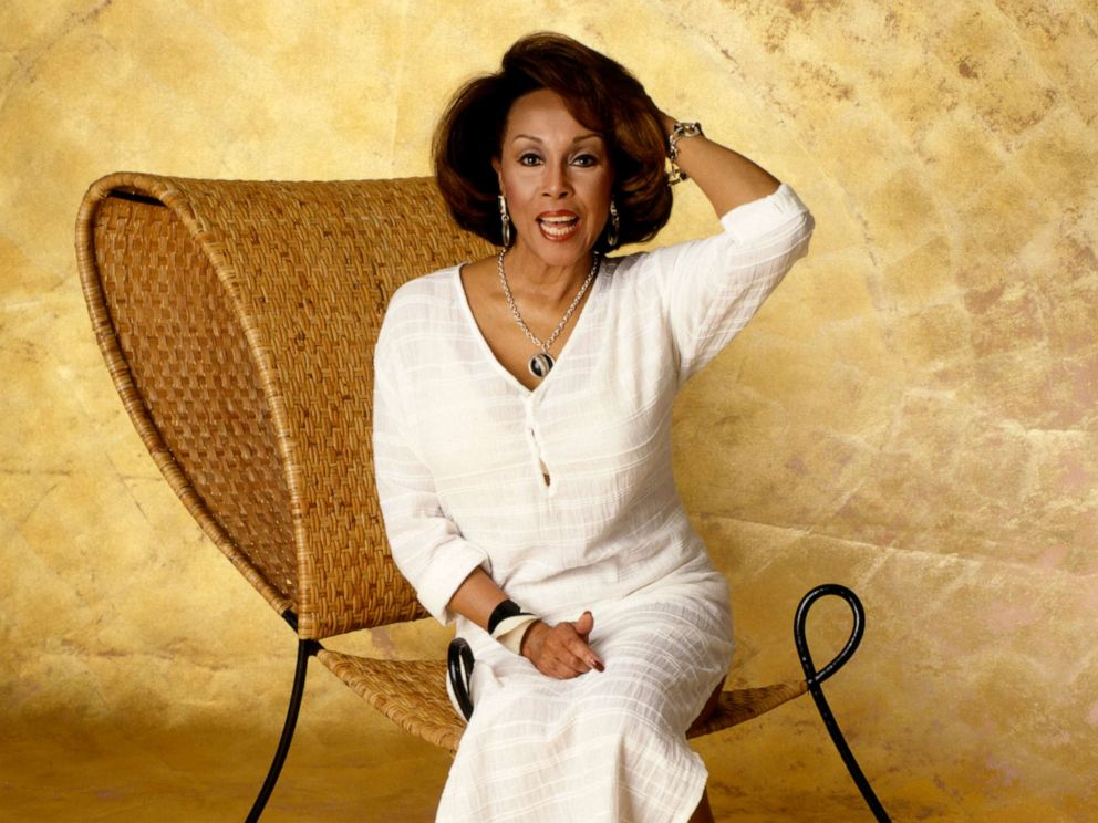 PHOTO: Portrait of American singer and actress Diahann Carroll in New York, circa 1990.