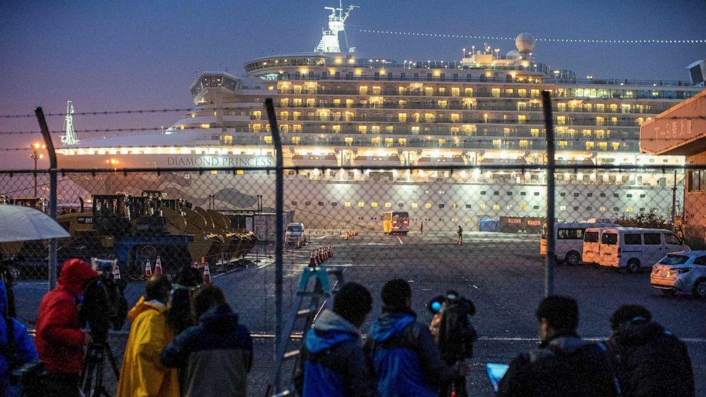 Passengers stuck on cruise ship due to coronavirus struggle to pass the time