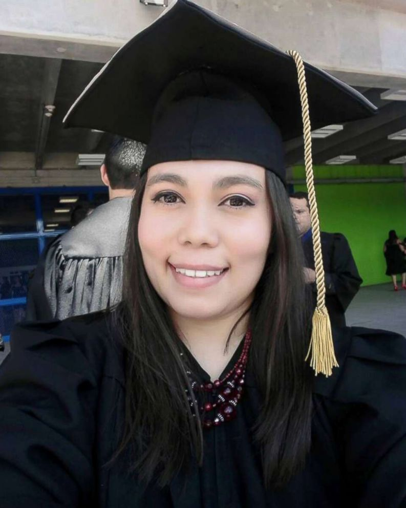 PHOTO: Belgica Ramirez, 27, graduating med school in March 2018.