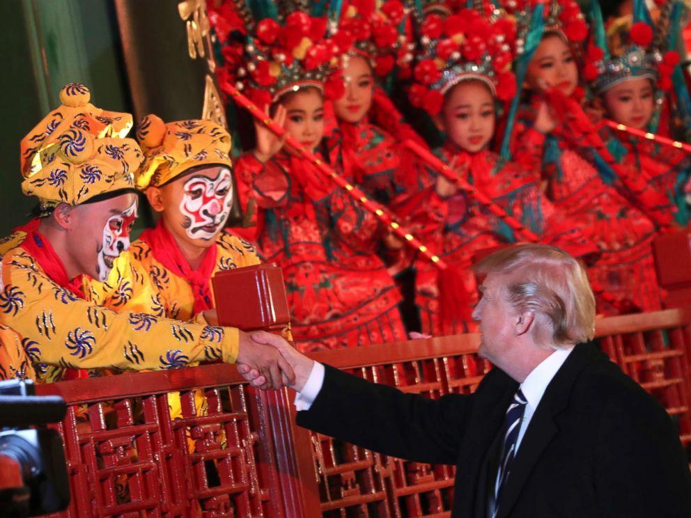 Analysis China South Korea Grapple With Trump Trip