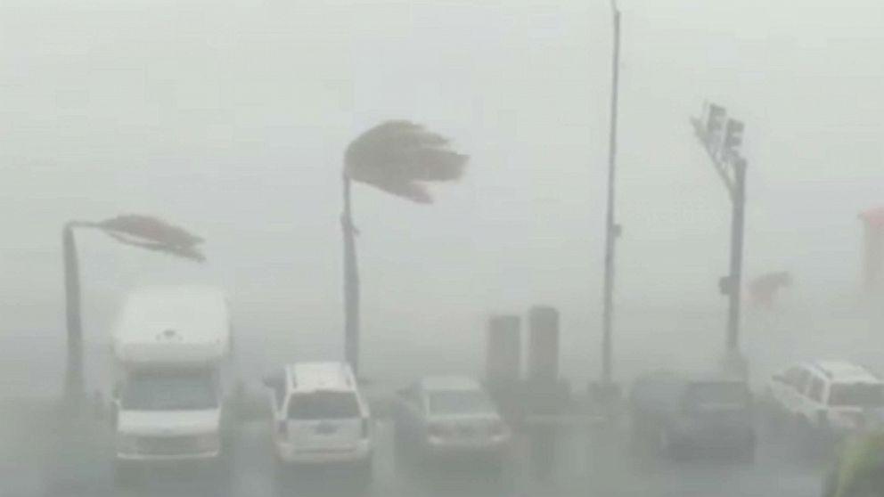 Dorian Inundates Martinique With Rains Washing Away Roads