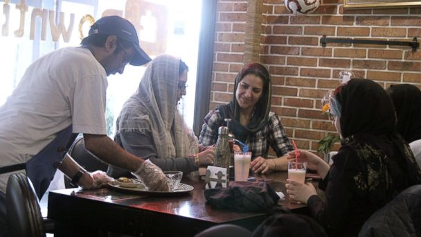 Cafe in Iran takes aim at employment glass ceiling for people with mental disabilities