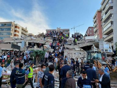Deadly earthquake strikes near Greek islands, Turkish coast