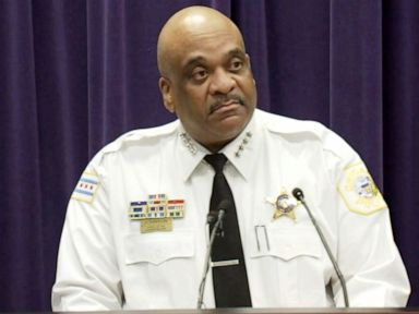 PHOTO: Eddie Johnson, superintendent of the Chicago Police Department, addresses the press, March, 23, 2019.