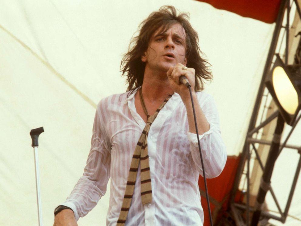 PHOTO: Eddie Money performs on stage.