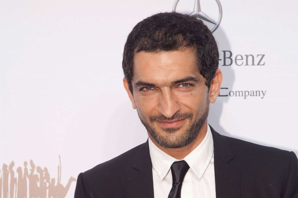 PHOTO: Actor Amr Waked on the red carpet before the screening of 18 Days at the Abu Dhabi Film Festival, Oct. 18, 2011, in Abu Dhabi, United Arab Emirates.