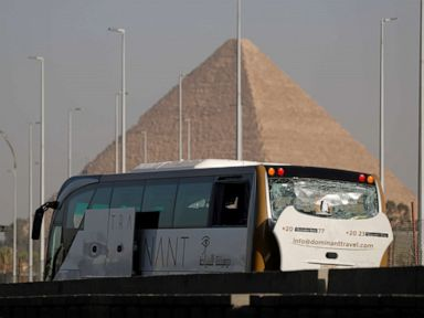 Tourist bus bombed near Egypts famed pyramids injuries reported