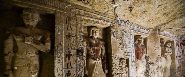 Egypt discovers 4,400-year-old...