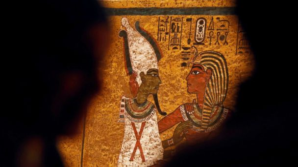 After a 10-year makeover, King Tut's tomb is back, in living color and ready for its close-up