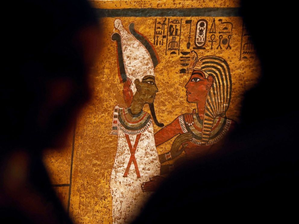 King Tut tomb restored to prevent damage from visitors