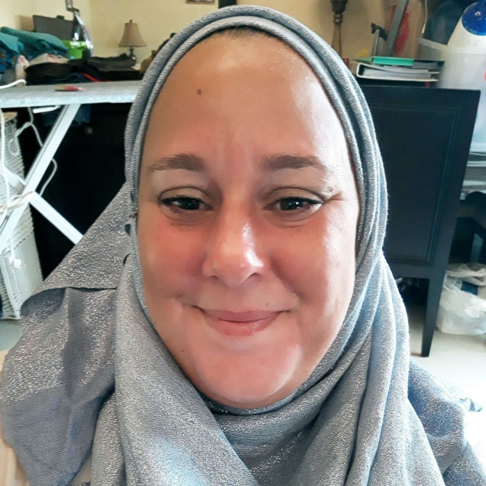 PHOTO: Ellie Lloyd took part in the 30-Day Hijab challenge this year.