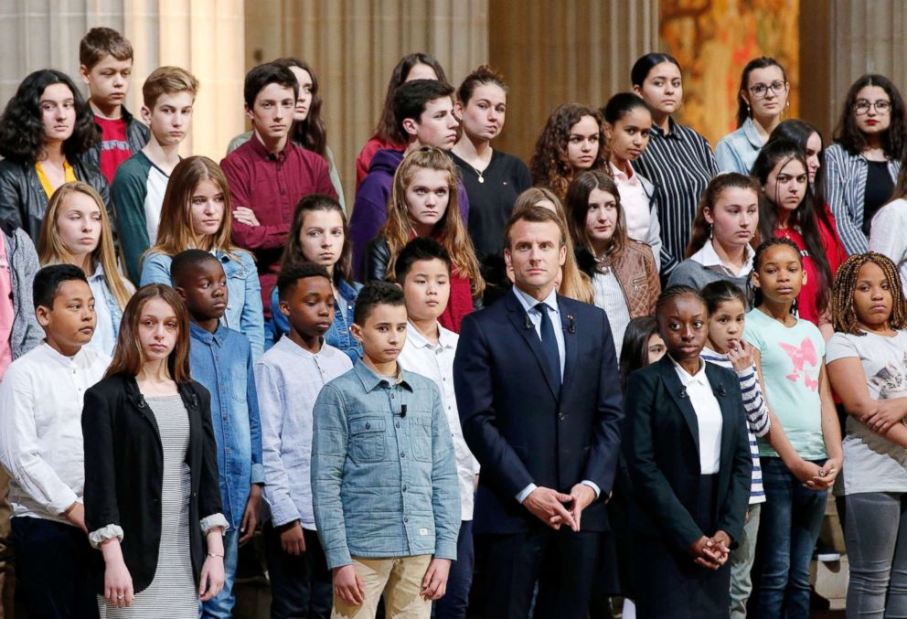 Emmanuel Macron Reinstating Compulsory National Service In France Abc News