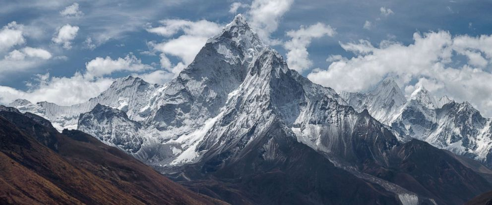 PHOTO: An undated stock photo of Mount Everest.