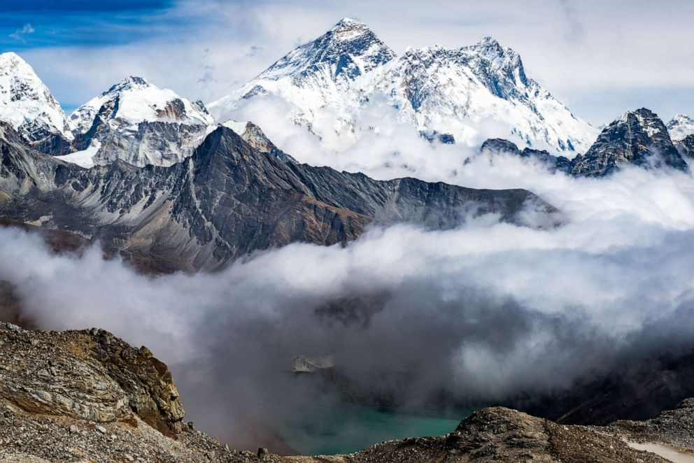 PHOTO: Mount Everest in an undated photo.