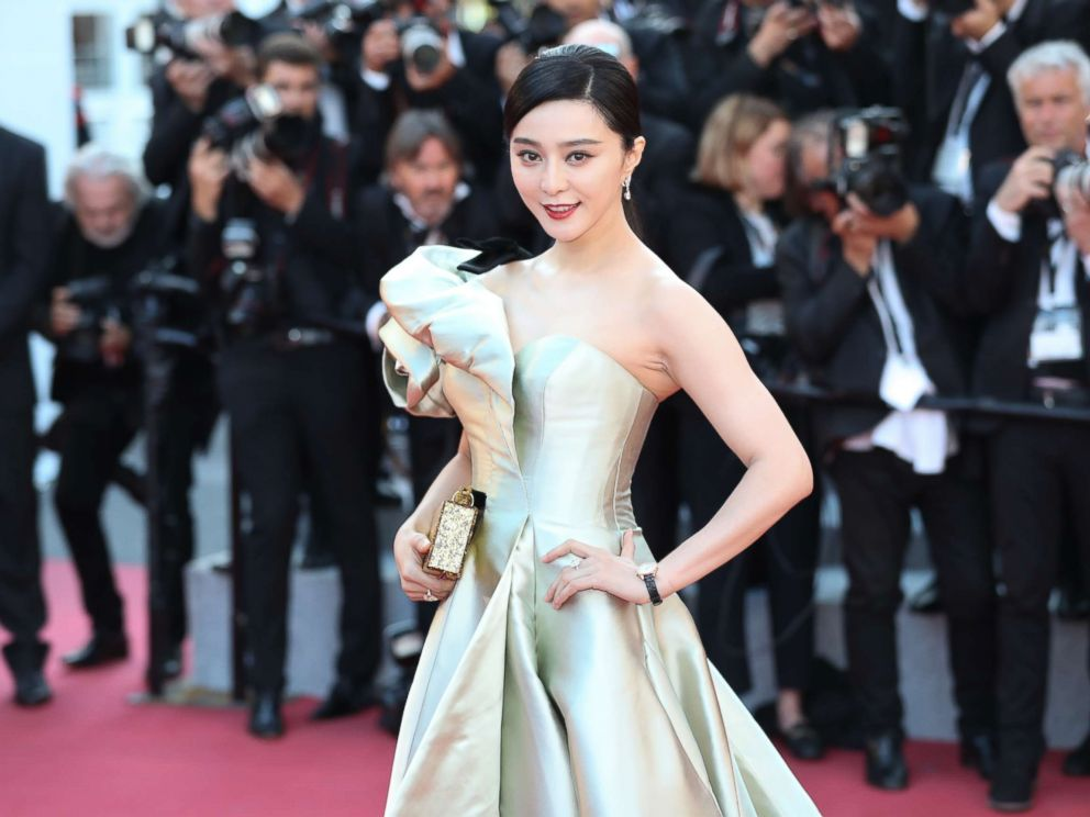 PHOTO: Actress Fan Bingbing attends the screening of Ash Is Purest White (Jiang Hu Er Nv) during the 71st annual Cannes Film Festival at Palais des Festivals, May 11, 2018, in Cannes, France.