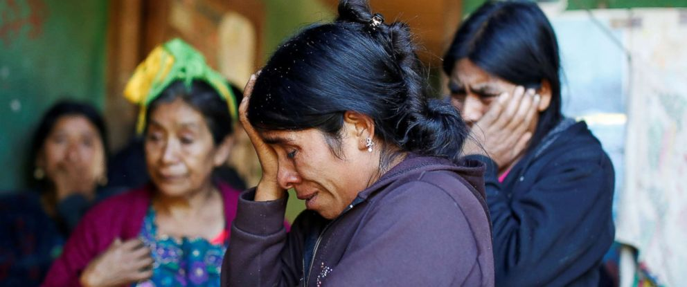 PHOTO: Catarina Alonzo, the mother of Felipe Gomez Alonzo, an 8-year-old boy who fell ill and died in the custody of U.S. Customs and Border Protection, reacts at her home in the village of Yalambojoch, Guatemala, Dec. 27, 2018.