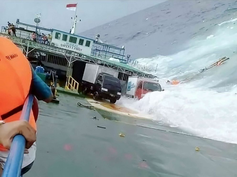 Indonesia says at least 31 dead in ferry sinking, search goes on