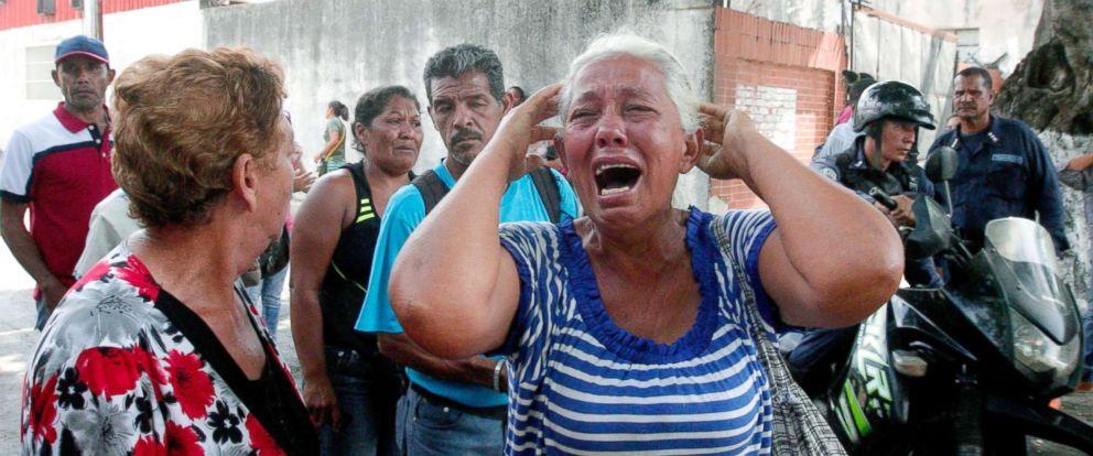 massive fire at venezuelan police detention center kills at least 68