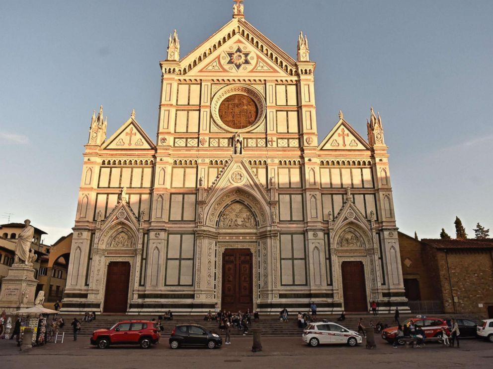 PHOTO Santa Croce Basilica Where A Tourist From Spain Was Killed By Falling Masonry