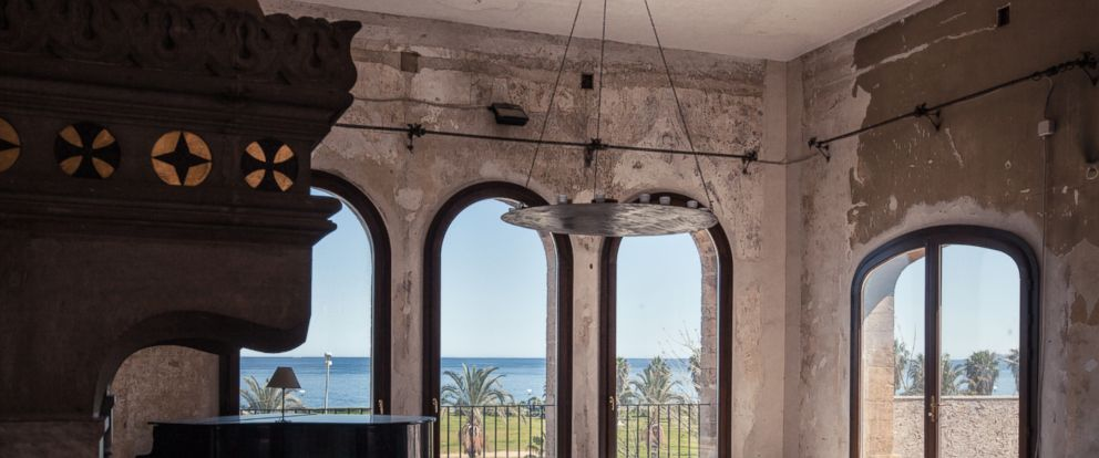 PHOTO: This 19th-century palace is the setting for works in Manifesta that deal directly with the topic of migration.
