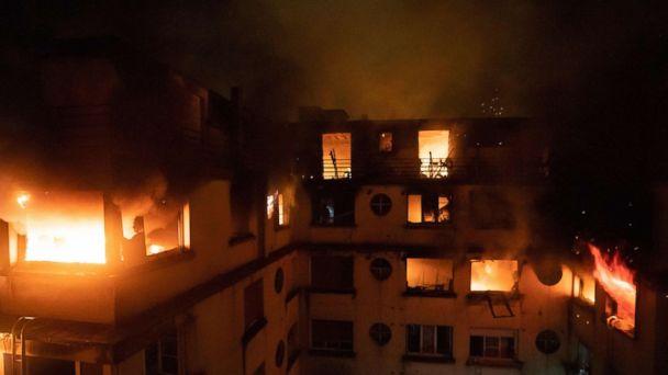 Paris apartment fire kills 10, injures more than 30; arson suspected
