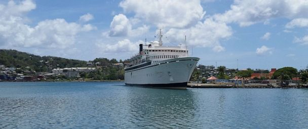 Church of Scientology ship with measles case on board headed