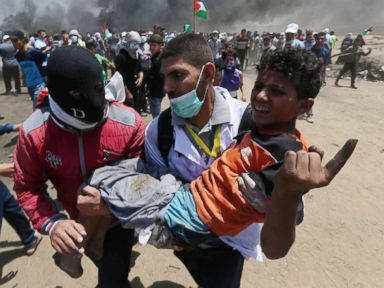 At least 18 dead, over 1,000 injured as Palestinians protest opening of US Embassy