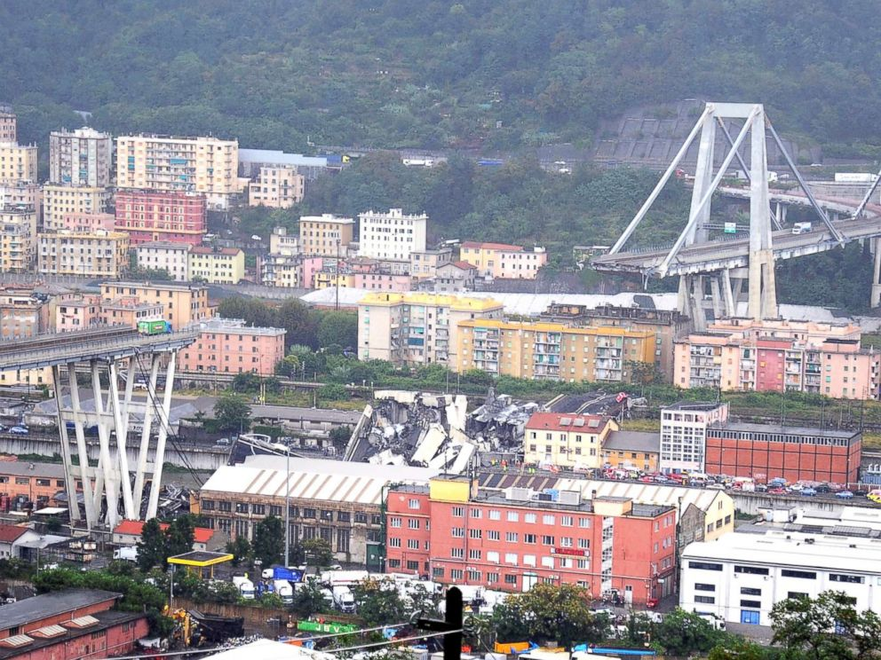 Image Result For Genoa Bridge Collapse