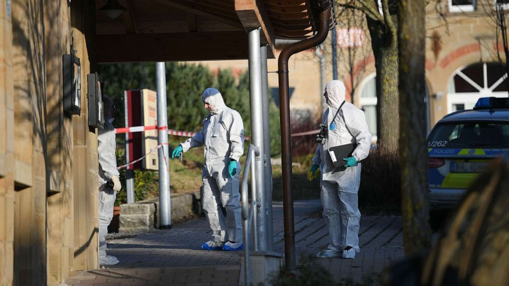 6 dead, 2 injured after family shooting in Germany, police say