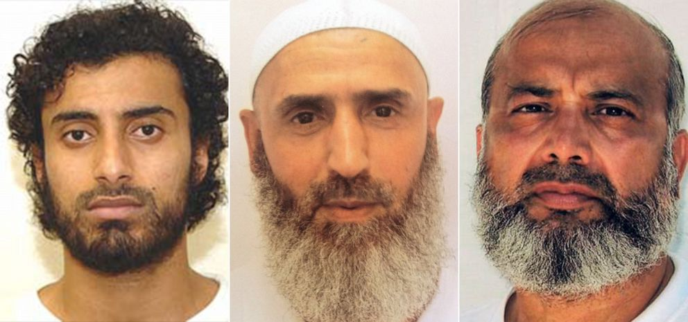 PHOTO: Khaled Qassim, Abdul Latif Nasser and Saifullah Paracha have all complained to their attorney of degrading medical treatment at the facility in Guantanamo Bay, Cuba.