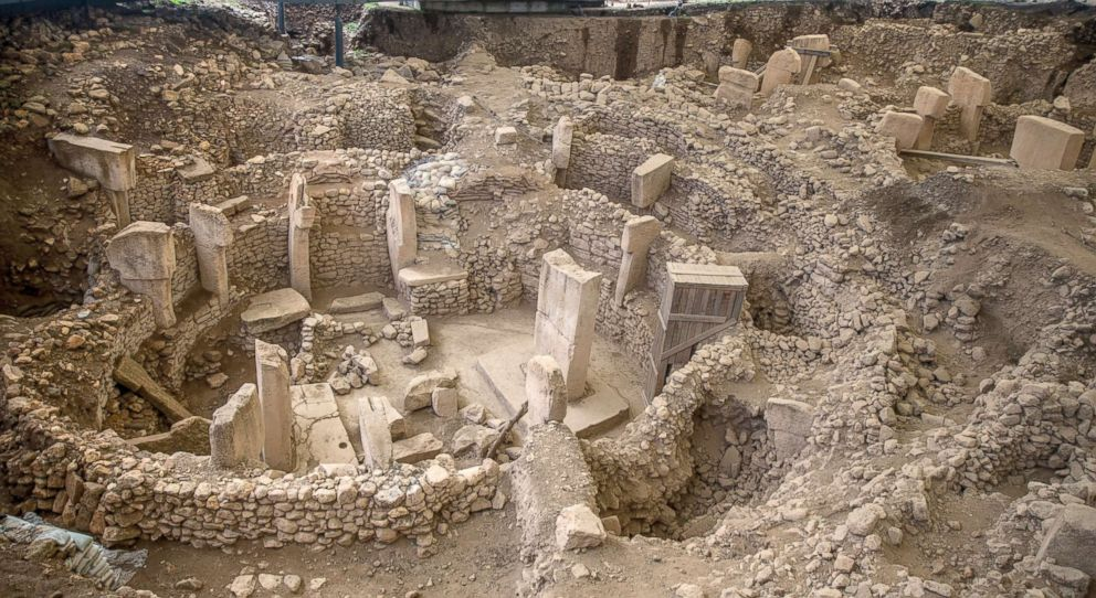 PHOTO: A general view of the Potbelly Hill (Gobekli Tepe), which is known as the oldest Temple Center in the UNESCOs World Heritage Tentative List, in Turkeys southeastern province Sanliurfa, Feb. 28, 2018.