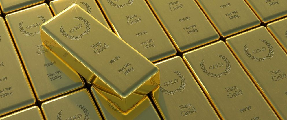 PHOTO: Gold bars are pictured in this undated stock photo.