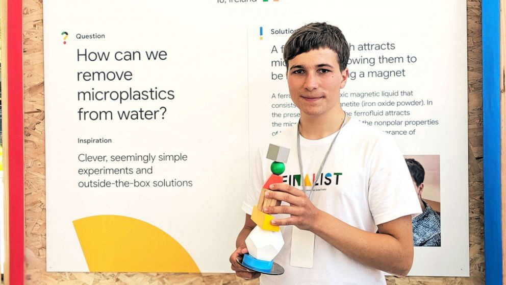 Image result for fionn ferreira microplastics