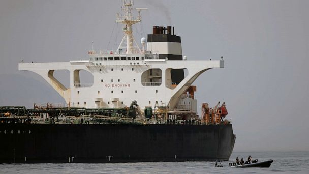 US applies to seize Iranian tanker held in Gibraltar